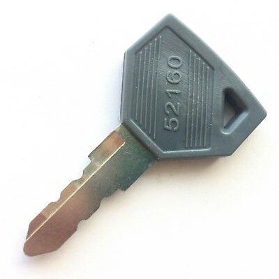 Yanmar and John Deere JD Tractor Ignition Key 198360-52160