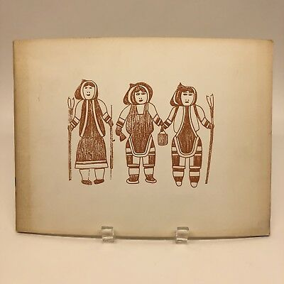 Eskimo Graphic Art 1968 Catalog Book Printed in Canada Canadian Arctic Producers