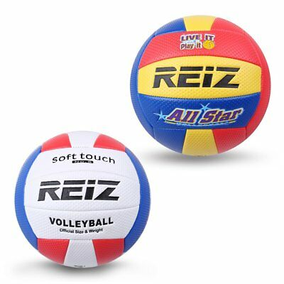 Soft Touch PU Leather 5# Volleyball Ball Training Competition Volleyball Ball 0a