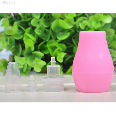 Infant Nasal Aspirator Sucker Silicone Baby Nose Mucus Snot Cleaner Soft Tip