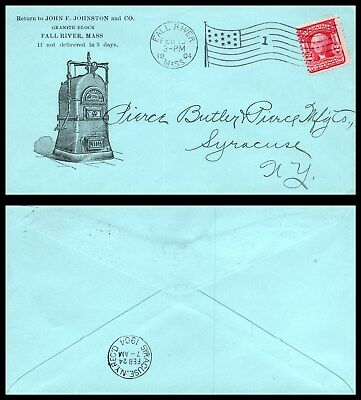 Goldpath: US advertising cover 1904 FALL RIVER, MASS. FURNACE  _CV26_P8