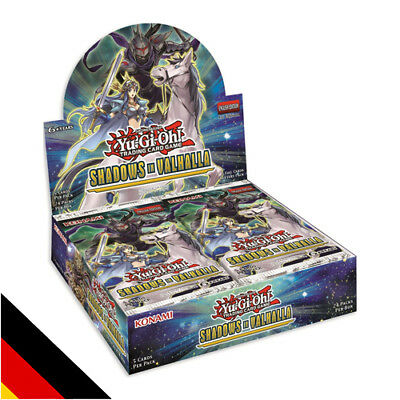 Shadows in Valhalla Display (24 Booster) Deutsch 1. Auflage NEU YU-GI-OH!