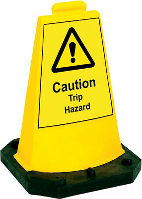 Sturdy Hazard Mini Cone / Safety Sign for Window Cleaning