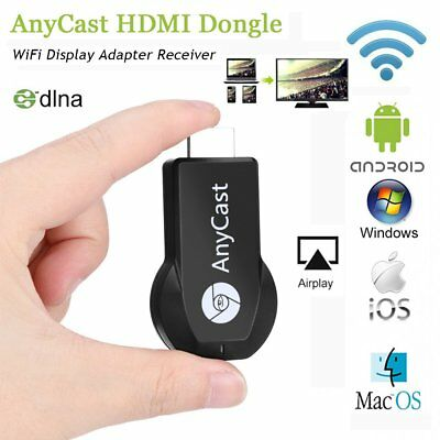 M2 Plus Wireless Wifi Display Receiver Dongle 1080P HDMI AnyCast For Android TV