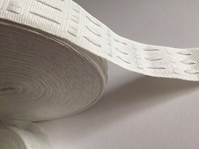 CURTAIN HEADING HEADER PLEAT 2inch/ 5 cm TAPE from £1.50 PER 2 Meters !