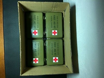 ( 1 ) New Us Military First Aid Kit Current Issue 6545-00-922-1200