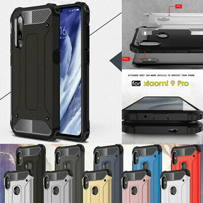 For Xiaomi Redmi Note 6/4/5 Pro S2 Rugged Armor Hard Hybrid Protected Case Cover
