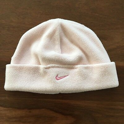 Girls Nike Pink Beanie - Size One Size Fits All