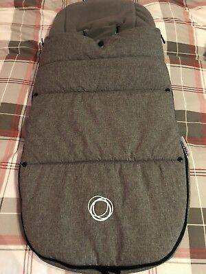 Bugaboo Grey Melange Footmuff perfect condition
