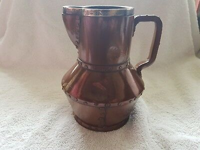 Very Unusual Doulton Lambeth Siliconware Pouring Jug Rare Shaped