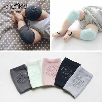 3 Pairs Baby Crawling Knee Pads Protector Baby Safety Anti-slip Elbow Cushion