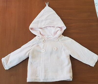 Country Road Baby Coat Pink 6 - 12 Months