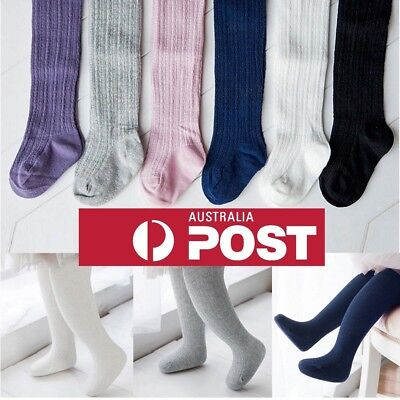 Toddler Infant Kids Baby Girls Cotton Warm Pantyhose Socks Stockings Tights 0-8Y