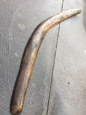 OLD ABORIGINAL HUGE! HUNTING BOOMERANG  ~ FROM PRIVATE COLLECTION! 93cm