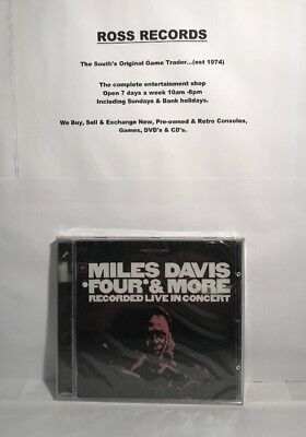 Miles Davis Four & More Recorded Live In Concert (CD) New & Sealed