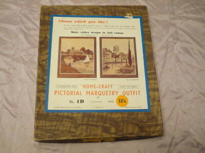 Vintage Home craft Pictorial Marquetry outfit - No-4D