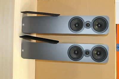 Q Acoustics 3050 speakers in American Walnut - Ref R53145 B-grade