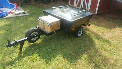 Cyclemate motorcycle trailer