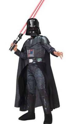 DISNEY STORE DELUXE Star Wars Darth Vader Light Up Boys Costume Size ... 9fb179006