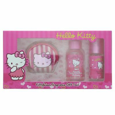 Hello Kitty Fragrance Coin Purse Set - Eau de Toilette Gift Set Childrens