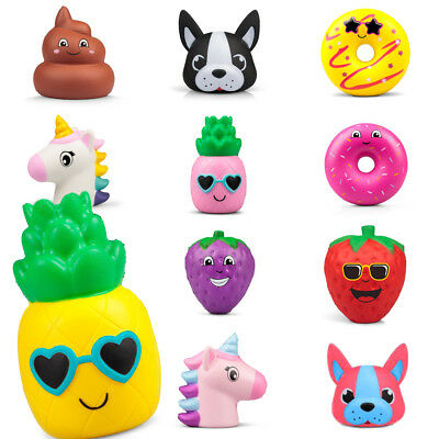 Slow Rising Squishies Squishy Squeeze Fidget Toy Kids Birthday Party Bag Filler