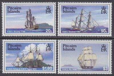 PITCAIRN ISLANDS - 1998 Sailing Ships (4v) - UM / MNH