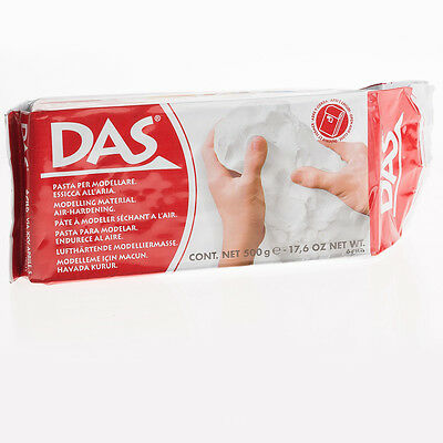 DAS Air Drying Clay 500g Arts Modelling Crafts