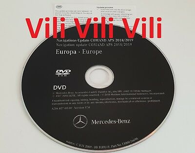 2019 Mercedes-Benz DVD Comand Aps Europa NTG3 W221 S-Class Version 17 NEW MAPS