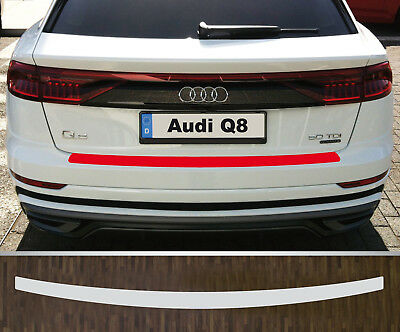 Clear Protective Foil Bumper Protection Transparent Audi Q8, from 2018
