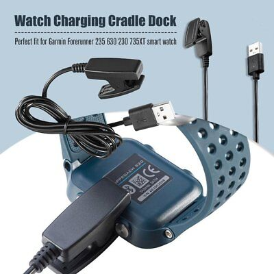 USB Clip Charger Data Charging Cable For Garmin Forerunner 735XT 235 230 630 GU