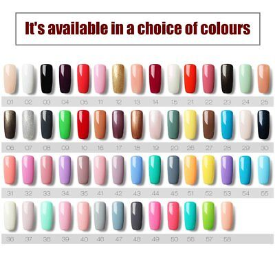 58 Mix Colors Pots Pure UV Gel Builder For Polish Nail Art Tips Manicure DIY SY