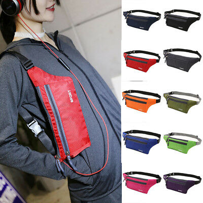 b3f19873909f Men Sport Waist Bum Bag Women Running Jogging Belt Pouch Fanny Pack  Lightweight