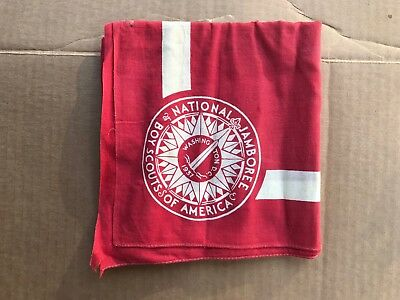 1937 Boy Scout Neckerchief: National Jamboree, Washington, Dc, 1937