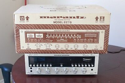 Vintage Marantz 2275 Stereophonic AM/FM Stereo Receiver - With Original Box