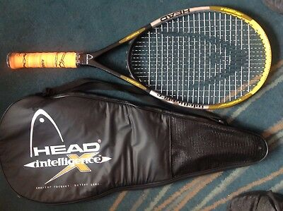 HEAD INTELLIGENCE I.X1 TENNIS RACQUET WITH CASE Grip 4 3/8 (3)