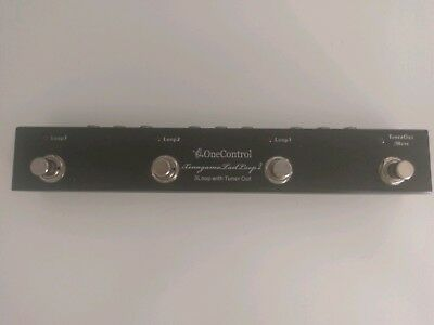 One Control Xenagama Tail Loop 2 effects pedal switcher