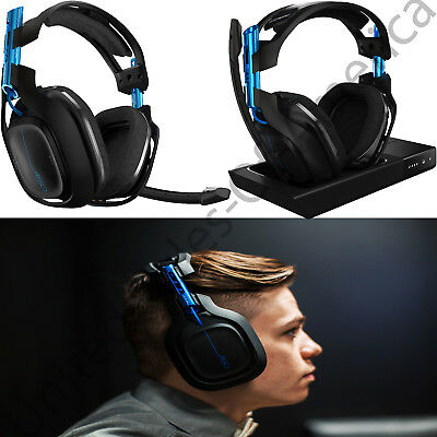 Wireless Gaming Headset PC PS4 5GHz Dolby Headphones 7.1 Surround Sound A50 Gift