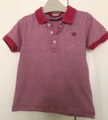 Boys 18-24 Months - Next Polo Shirt In Excellent Condition