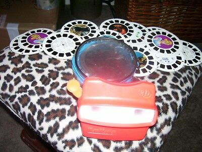 Red View Master 3D Fisher Price ViewMaster w/ 18-3D Reels