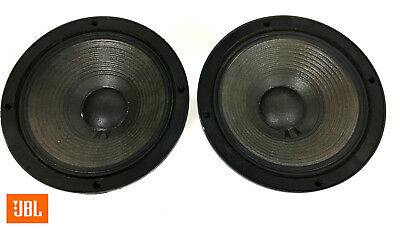 "JBL 2118H 8"" 8-ohm Midrange Speaker Pair Perfect Matching DCR's: 5.6 / 5.6, 5246"