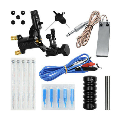 Beginner Complete Tattoo Kit Professional Machine Tattoo Foot Pedal Cord Set