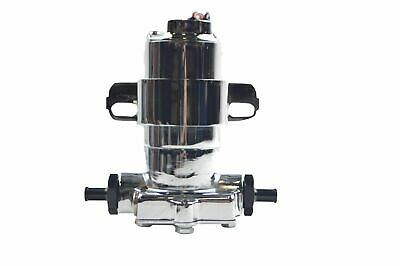 Electric Fuel Pump For Carbureted Applications, 140 Gph. / 530 Lph. Free Flow