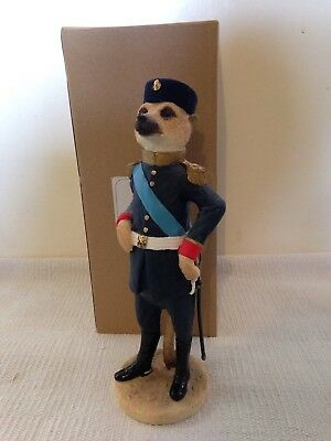 Country Artists Magnificent Meerkat Ornament Figure Viktor With Original Box