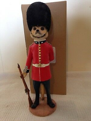 Country Artists Magnificent Meerkat Ornament Figure James Grenadier Guard Boxed