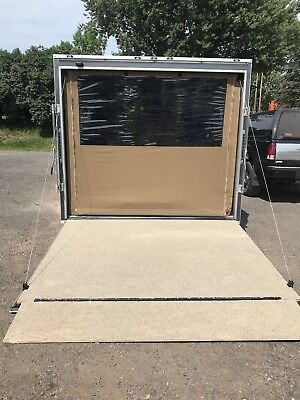 Ez-Traction Trailer Ramp Kit! Do It Yourself Safety Non-slip over wood or metal