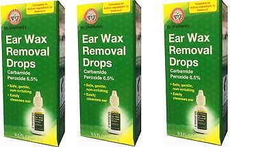 Ear Wax Removal Drops Dr Sheffield's (Pack of 3)