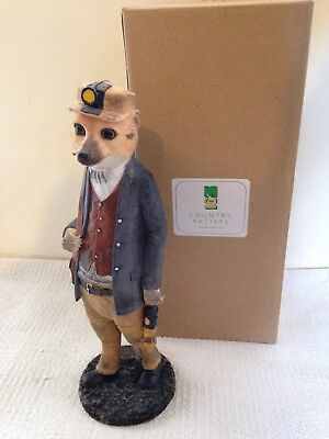 Country Artists Magnificent Meerkat Ornament Figure Davy Miner CA03524 Boxed
