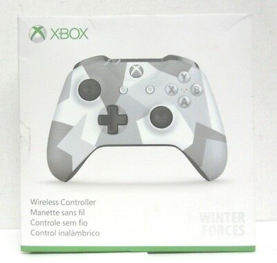 Microsoft Xbox One Wireless Controller Winter Forces Special Edition #104