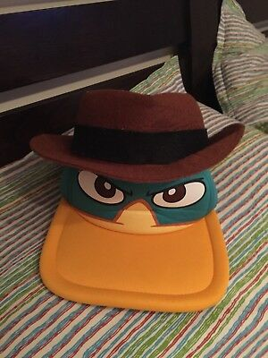Phineas and Ferb Perry the Platypus Hat Cap Disney