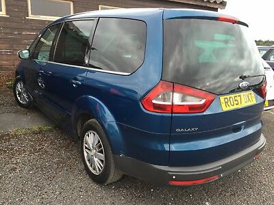 57 Ford Galaxy 1.8 Tdci Ghia Full Leather, Flagship Model, Fabulous Spec & Opts